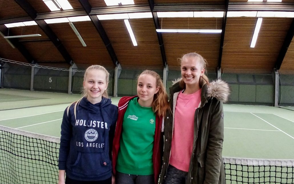 Tennis-Mädels