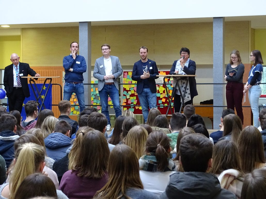 2019 - Projekttag Europawahl